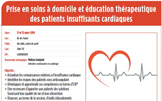 Formation Patients insuffisants cardiaques