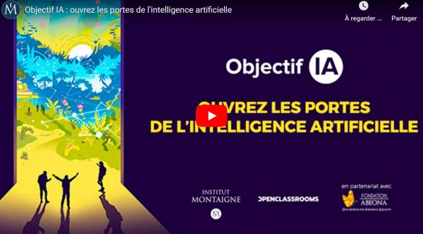 Objectif IA – Initiez vous à l'Intelligence artificielle