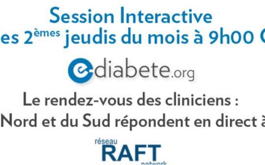 E-diabète – Programme africain d'éducation sur le diabète destiné aux professionnels de santé,
