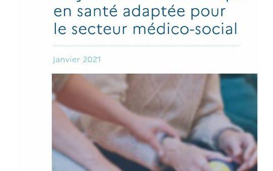 Trajectoire du numérique en santé adaptée pour le secteur médico-social